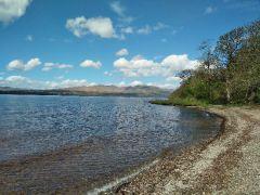 Ausblick auf Loch Lomond